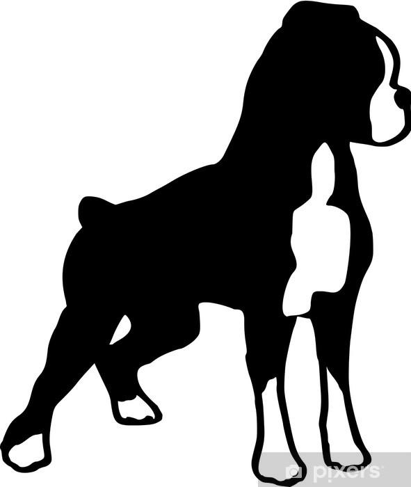 Naklejka Pixerstick Bokser / German Boxer / Dog Breed - Ssaki
