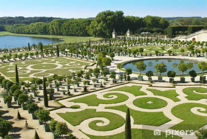 Tuinen Van Versailles.Fotobehang Vinyl Tuinen Van Versailles