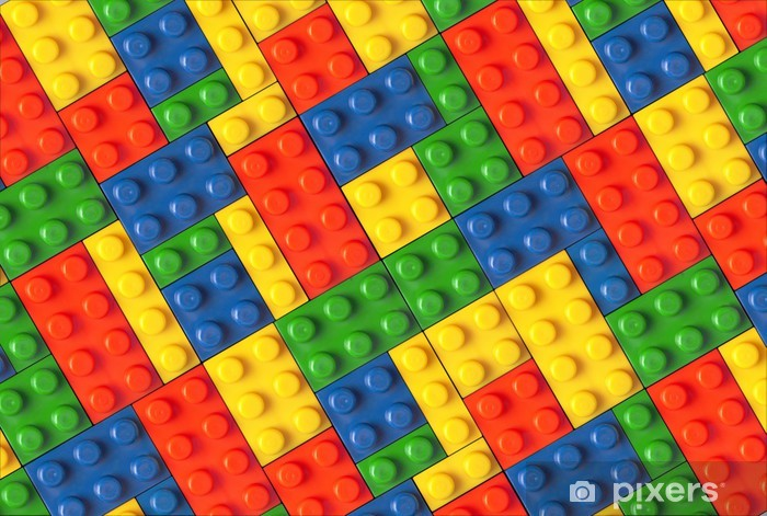 Lego Background Wall Mural Pixers 174 We Live To Change