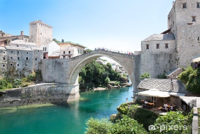 Fototapeta winylowa Stary most - Mosta - Europa
