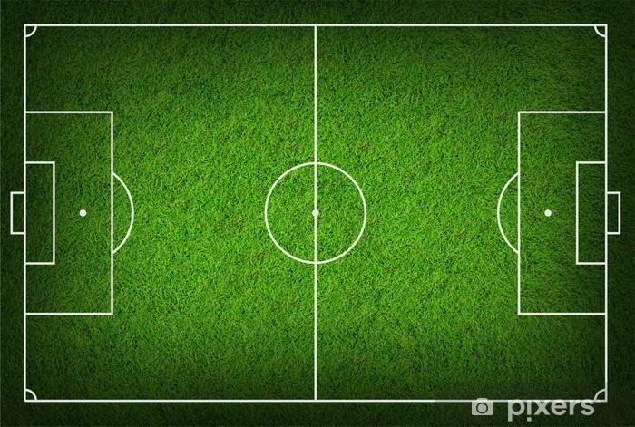 Naklejka Pixerstick Boisko do piłki nożnej - Sport