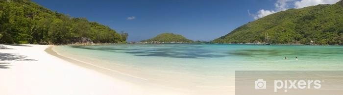 Vinilo Pixerstick Anse Kerlan, Isla de Praslin - Vacaciones