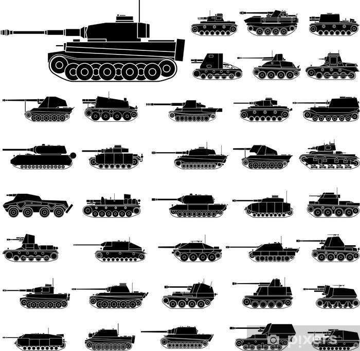 Tanks Framed Poster - Themes