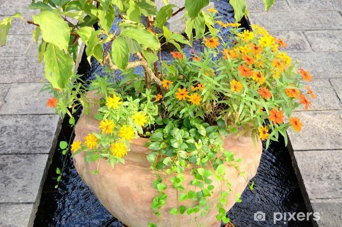 Naklejka Pixerstick Trawa i kwiaty roślin - Natura i dzicz