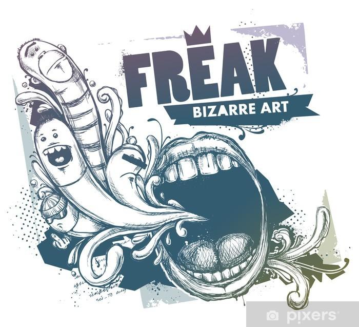 Plakat Nowoczesne szkicowy obraz stylu - Sztuka i twórczość