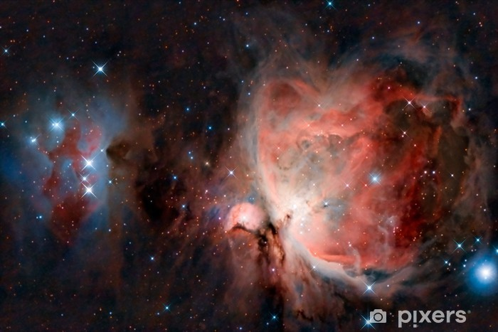 Great Orion Nebula Pixerstick Sticker - Universe