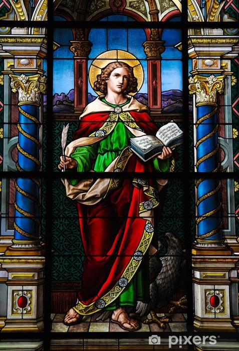 Saint John the Evangelist. Vinyl Wall Mural - Public Buildings