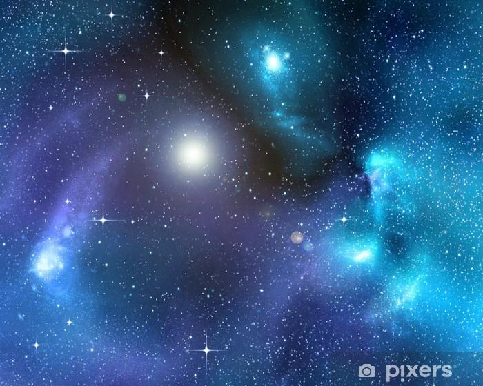 Naklejka Pixerstick Starry tle głębokiego kosmosu - Gwiazdy
