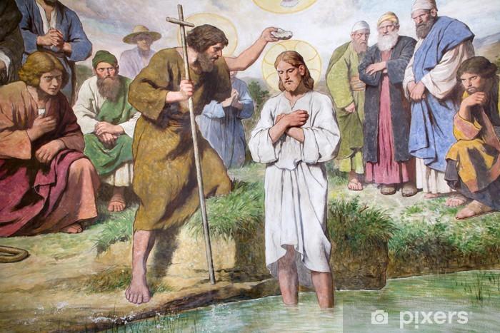 Fototapete Wien Taufe Von Jesus Christus