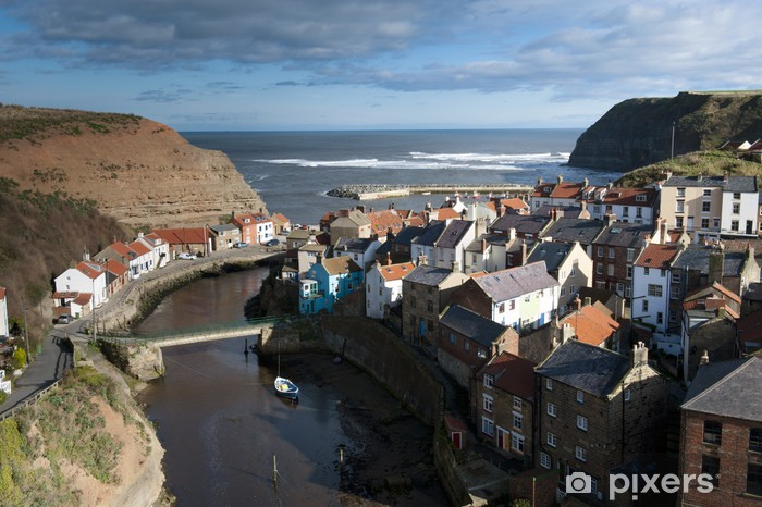 Staithes Vinyl Wall Mural - Holidays