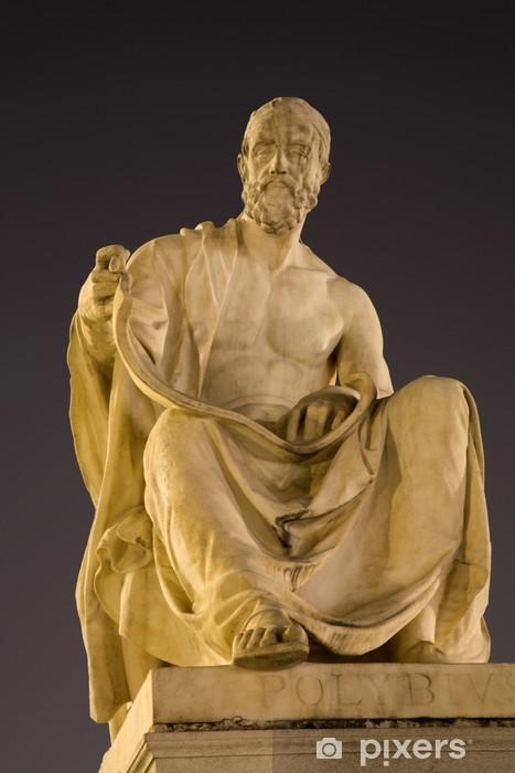Nálepka Pixerstick Vídeň - filozof Polybius socha na parlament - Evropská města