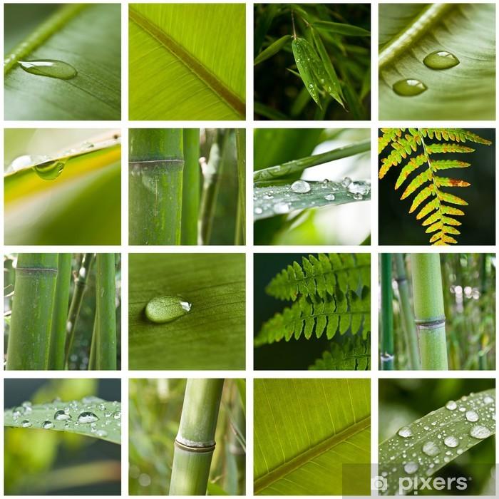 Nálepka Pixerstick Složení přírodní zen - Struktury