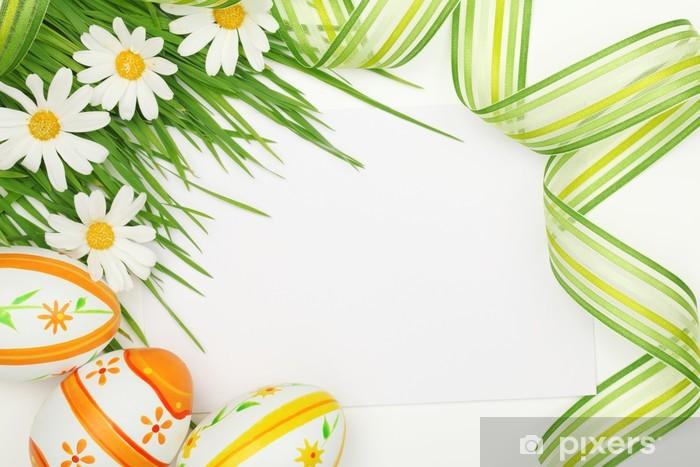 Papier peint vinyle Easter frame - Pâques