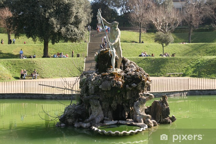 Firenze Giardino Di Boboli Wall Mural Pixers We Live To Change