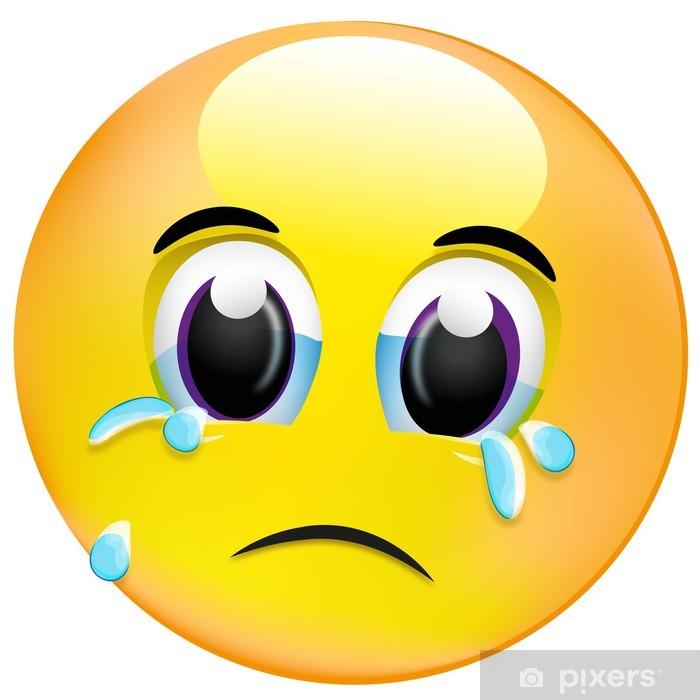 Fototapete Smiley - tränen der trauer • Pixers® - Wir