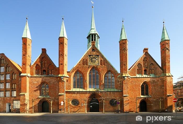 Naklejka Pixerstick Szpital Duch Święty, Lübeck - Europa