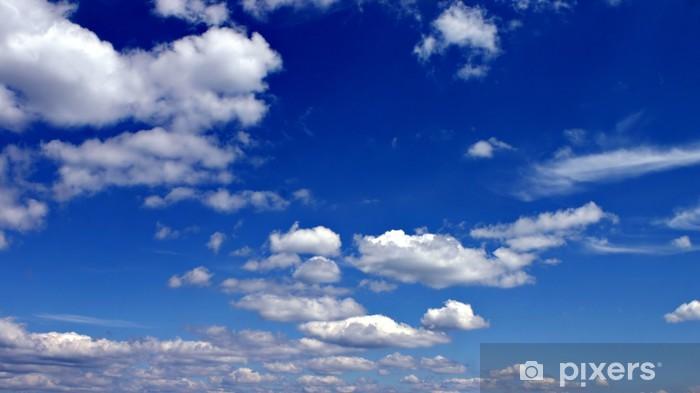 Papier peint vinyle Ciel bleu avec des nuages blancs classique - Religion