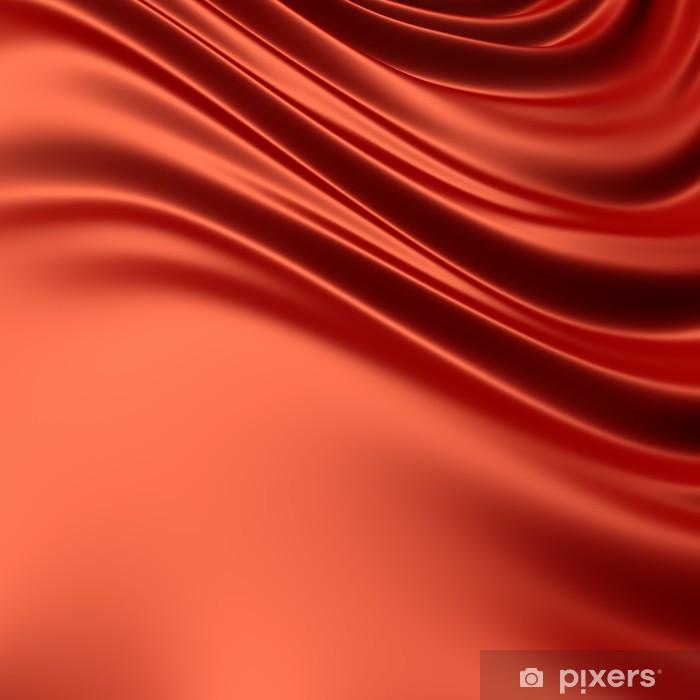 Sticker Pixerstick Red augmenté tissu / matériau. Fonds de la série. - Arrière plans