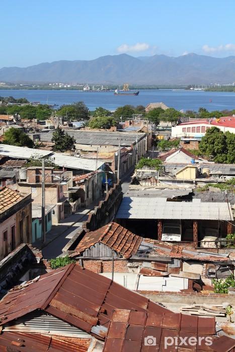 Vinilo Pixerstick Santiago de cuba - Urbano
