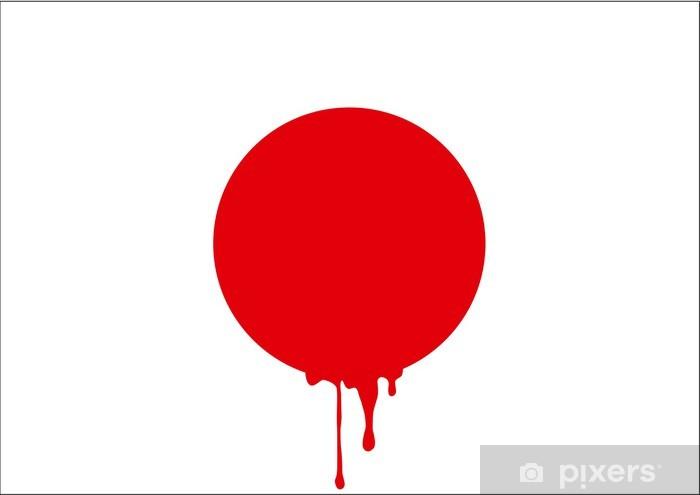 Papier peint vinyle Japon_Sang - Thèmes