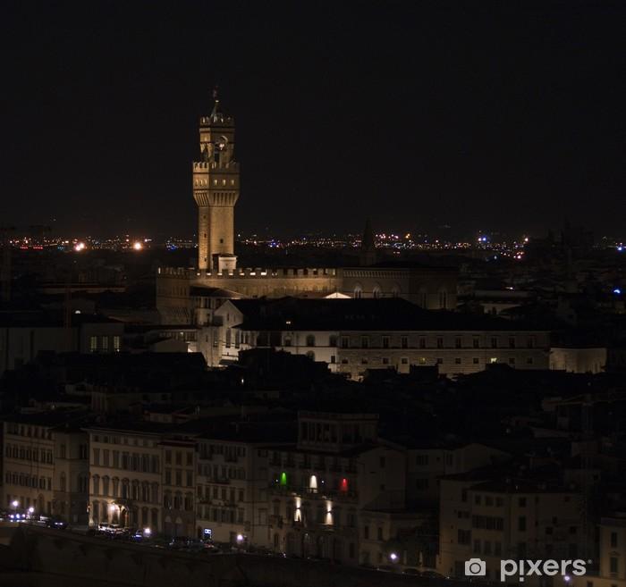 Fototapeta winylowa Palazzo Vecchio - Florencja, Włochy - Europa