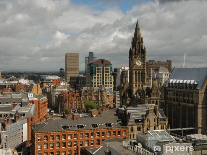 Fototapeta winylowa Miasta Manchester - Pejzaż miejski