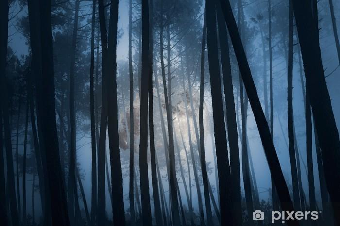 Almohada Larga Bosque Misterioso Pixers Vivimos Para Cambiar