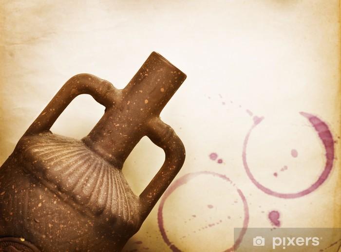 Fototapeta winylowa Vintage Design Wine - Tekstury