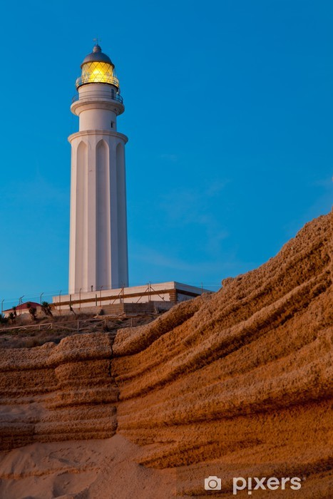 Vinyl-Fototapete Leuchtturm von Trafalgar, Cadiz - Europa