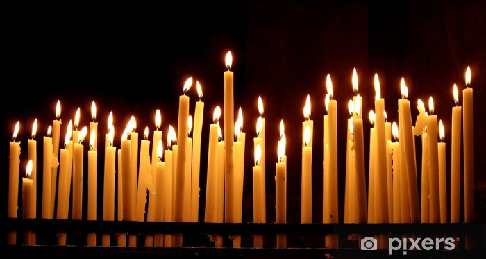 Kynttilät Pixerstick tarra - Destinations