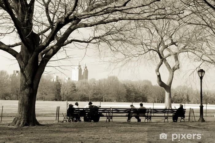 Vinilo Pixerstick Central park - Estilos