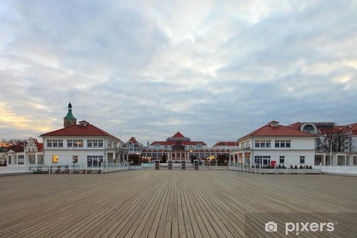 Vinyl Fotobehang Pier in Sopot - Thema's