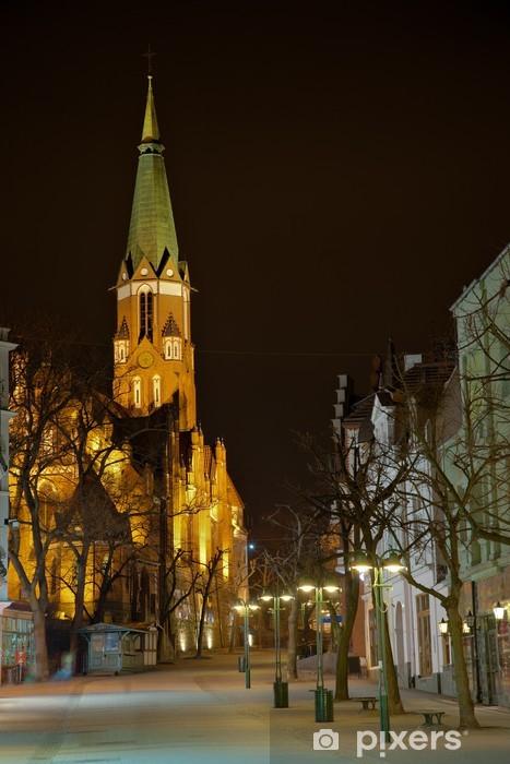 Papier peint vinyle Eglise à Sopot, en Pologne. - Thèmes