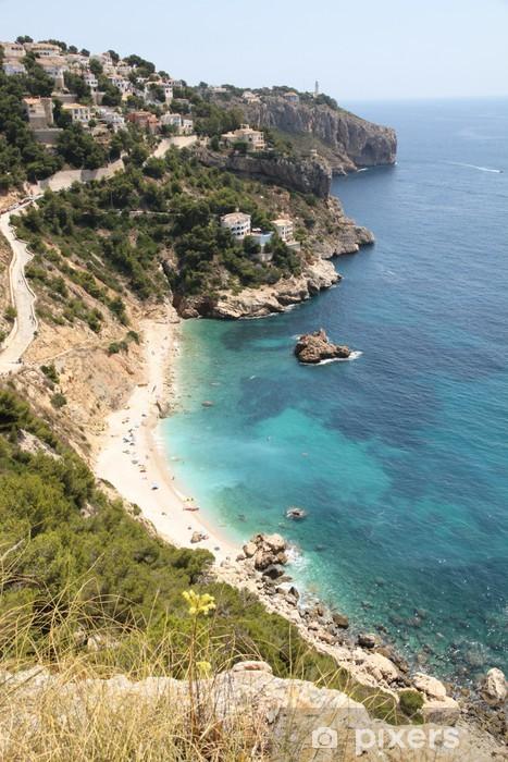 Sticker Pixerstick Province Ambolo plage Javea Costa Blanca Alicante Espagne - Europe