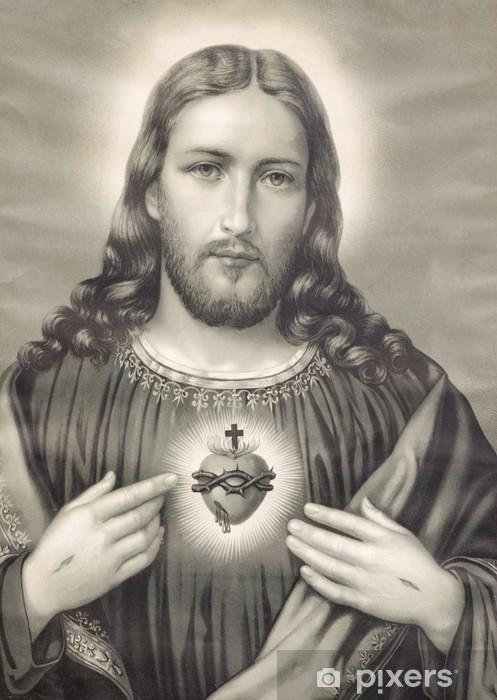 heart of Jesus Christ Vinyl Wall Mural - Themes