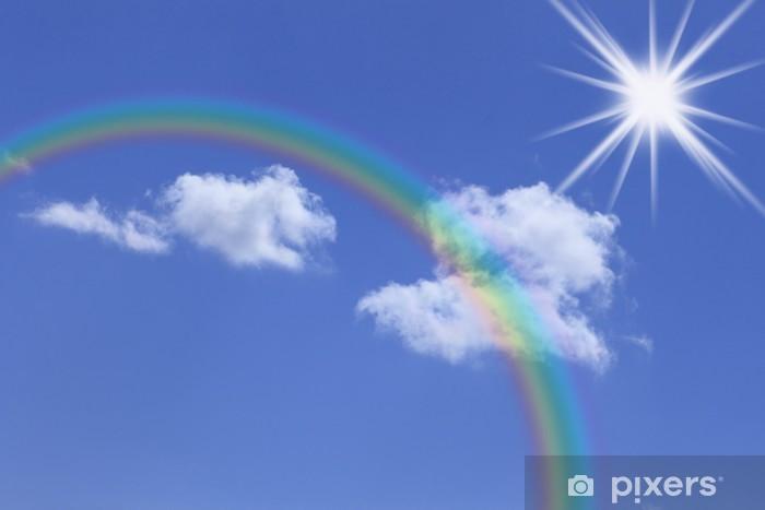 Papier peint vinyle 虹 と 青 空 - Ciel