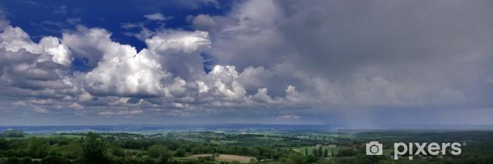Fototapeta winylowa Spada deszcz - Niebo