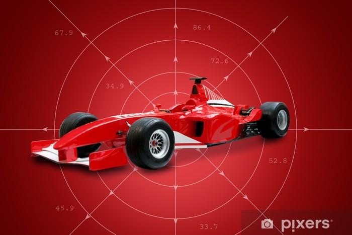 Poduszka relaksacyjna Red formuła jeden samochód - Tematy