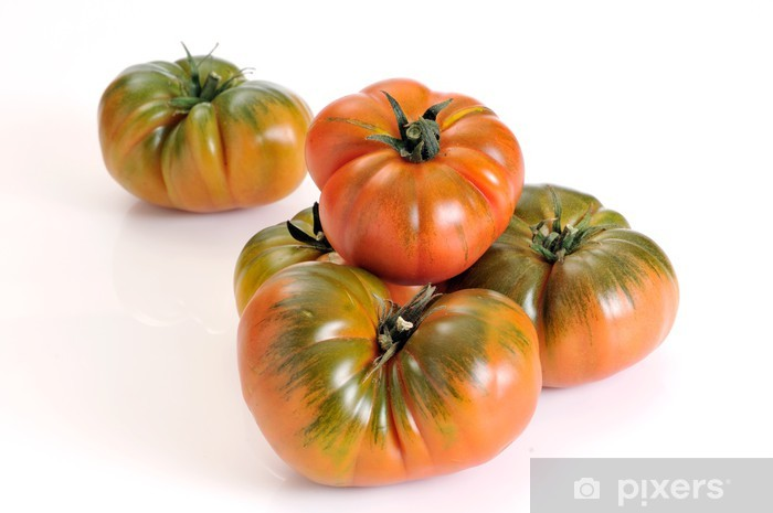 Naklejka Pixerstick Raf pomidor, odmiana pomidora z Almería, Hiszpania - Tematy