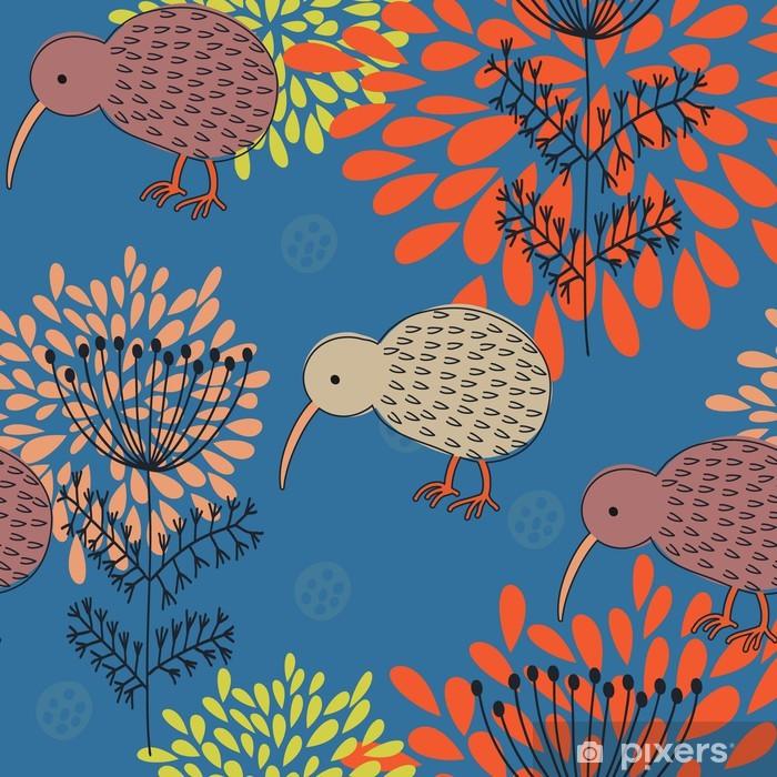 Vinyl Fotobehang Zomer floral design patroon, voor een stijlvolle wallpapers - Zakelijke Concepten