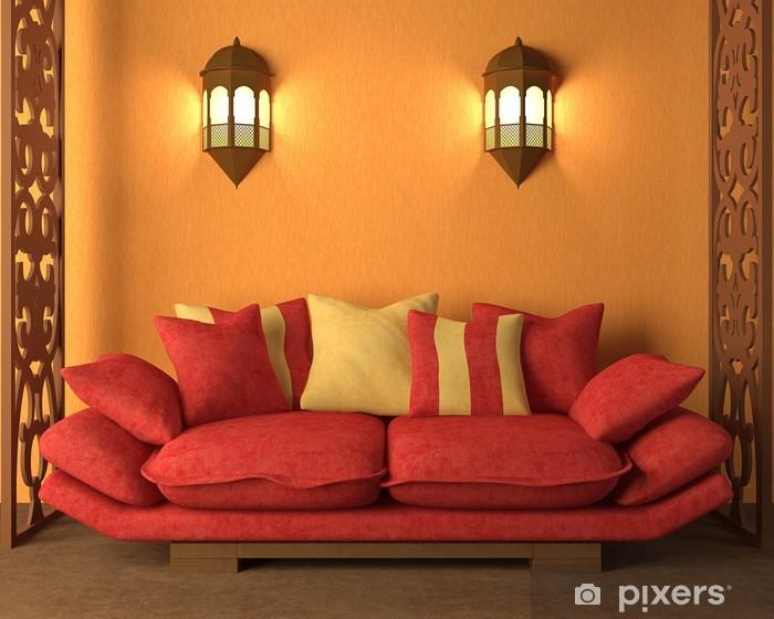 Naklejka Pixerstick Wnętrze w stylu marokańskim - Budynki prywatne