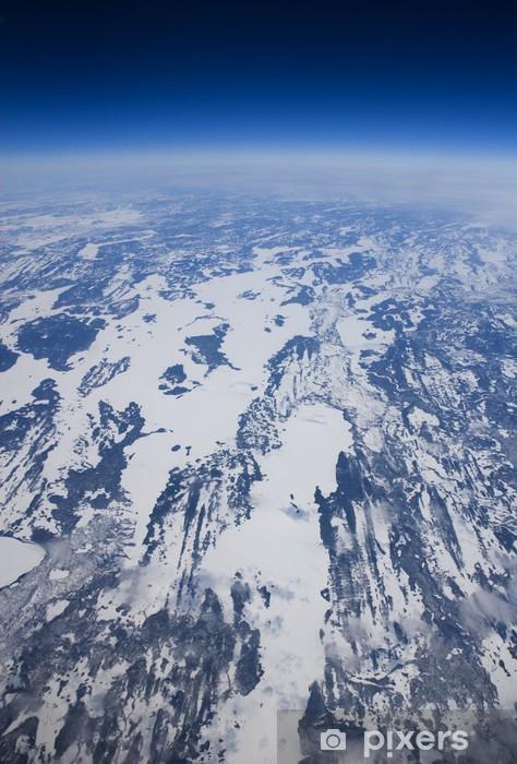 Naklejka Pixerstick Wysoki wysokość zamarzniętych Arctic Kanadzie - Inne Inne
