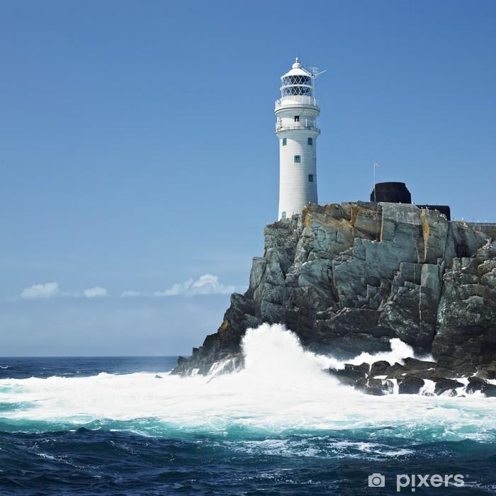Fototapeta winylowa Latarnia morska, Fastnet Rock County Cork, Irlandia - Latarnia morska