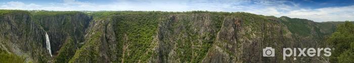 Naklejka Pixerstick Wollomombi Falls Panorama - Natura i dzicz