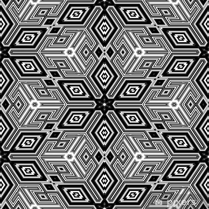 Vinilo Pixerstick Cubos abstractos 3d se asemejan a una ilustración de Escher - Temas