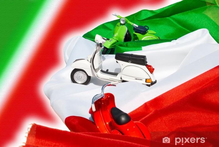 Papier peint vinyle Vespa italien 50 - Vespa