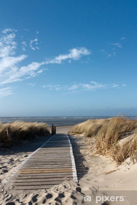 Fototapeta winylowa Plaże Morza Północnego na Langeoog -