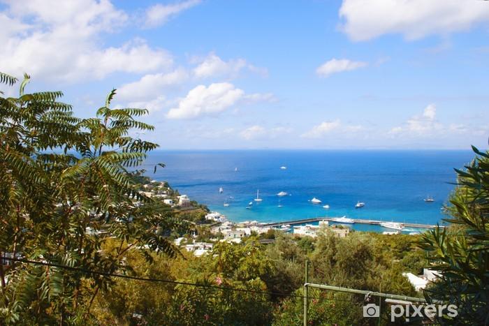 Vinyl Fotobehang Capri eiland - Vakantie