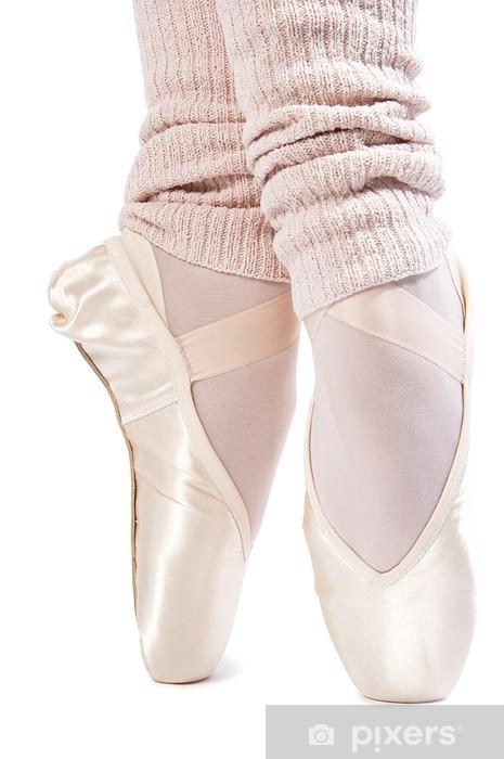 Fototapeta winylowa Nogi w buty balet 7 - Części ciała