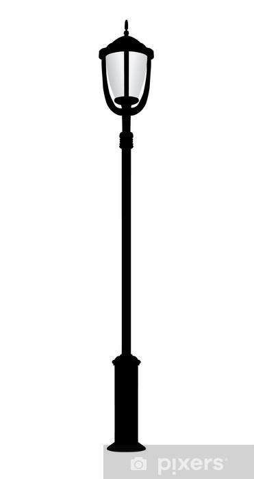 Vinilo Pixerstick Farola de edad, vector - Monumentos
